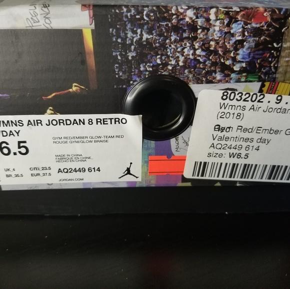 sale retailer ee1ce 32e4a Womens Jordan Retro 8 Valentine's Day